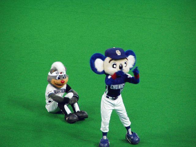 ドアラとB☆B@2006年日本シリーズ