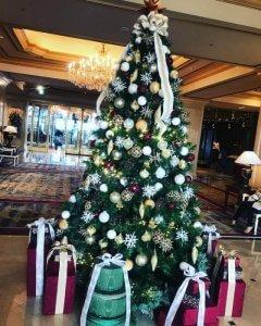 リーガロイヤルホテルのクリスマスツリー