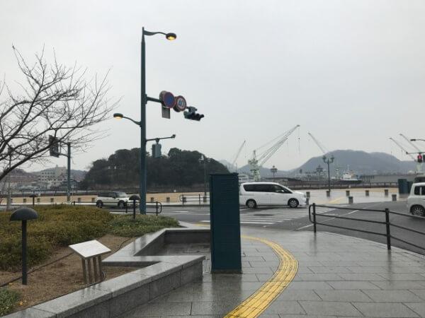 尾道駅前広場