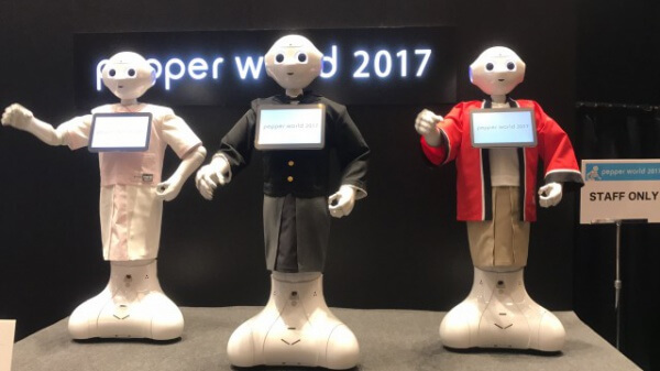 pepper2017:お出迎え