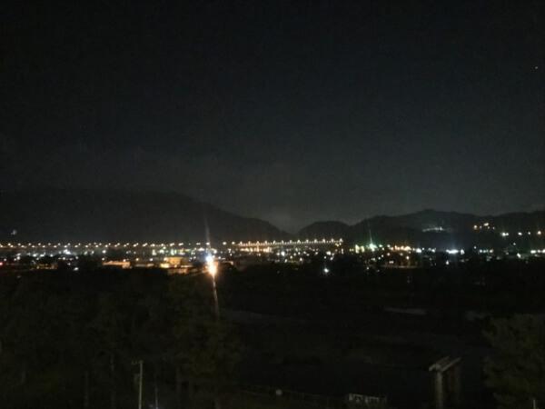 夜の酒匂川