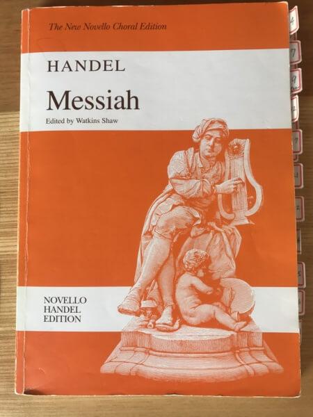 Messiah Nobello版楽譜