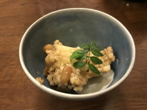 豆腐のもろみ味噌漬け