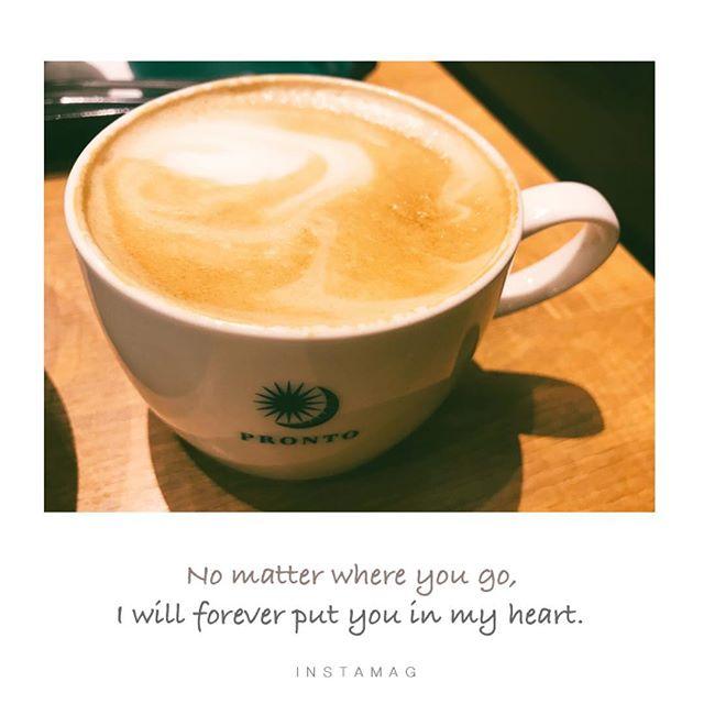 【Instagram】暖かいカフェラテが飲みたくなってきた。昼休みに飲みに行こうかな。#カフェラテ #プロント
