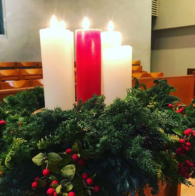 【Instagram】クリスマスの夕べ、まもなく始まります。#クリスマス