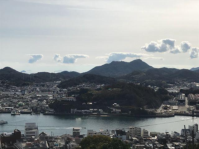 【Instagram】山道からの眺め。登り切るまで大変だったけど眺めは最高でした(^o^)#尾道