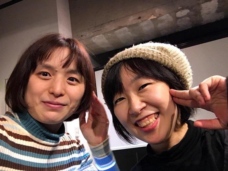 トモちゃんとツーショット。2018年2月
