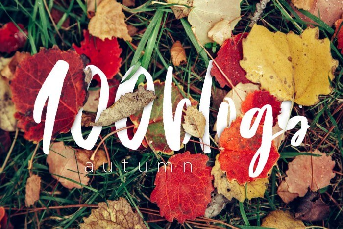 100blogs 2018 autumn