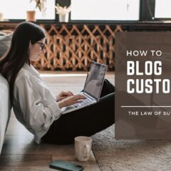 blog-Customise