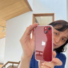 iPhone13自撮り