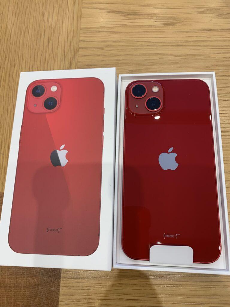 iPhone13、開封の儀